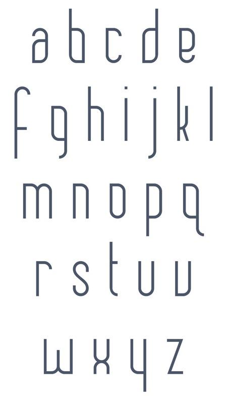 Mayan typefaces